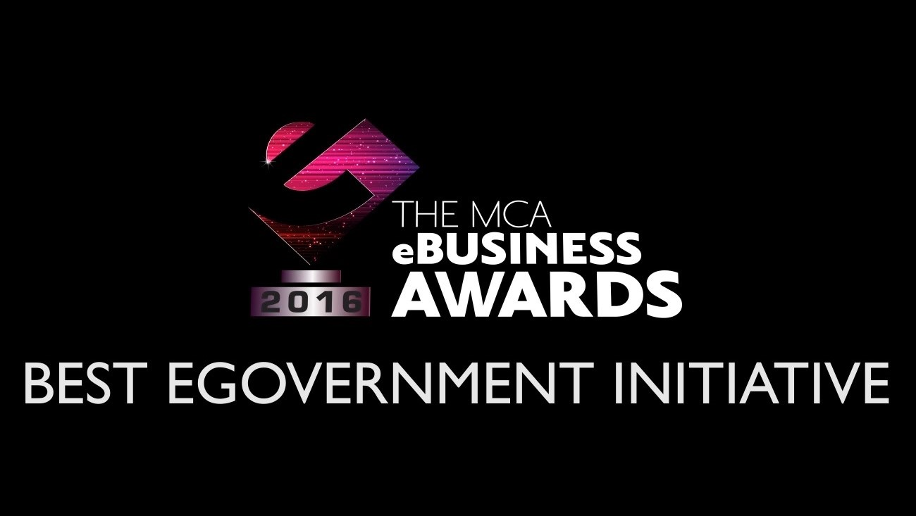 The MCA eBusiness Awards winner